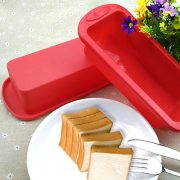 Cake-BakewareSilivo-25-Deep-Cake-Pan-Silicone-Cake-Moulds-Rectangle-Bread-Loaf-Mold-Baking-Moulds-Tray-Bakeware-Set-for-CakesBreadPiePancakesPizzaRed-0-4